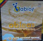 Obleas con Arequipe 10 galletas Wafer w caramel sp