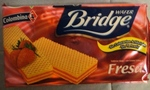 Galletas Wafer bridge Fresa Colombina