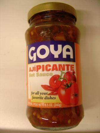 ... , Sauce, Aji Picante, Goya, 8.5 oz, 240 gr - Colombian Food Products