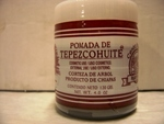 Tepezcohuite cosmetic use pomada 4oz 120gr