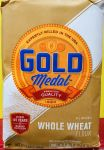 Whole wheat flour all natural Gold medal