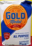 All purpose flour Unbleashed Enrished Gold medal