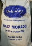 Purple Corn Cob Maiz morado x50Lb shipping include