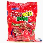 Bon Bon Bum Fresa/Strawberry 24 Units | Colombina