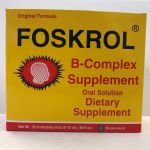 Foskrol B complex supplement