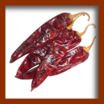 Chiles secos frutas secas