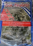 Chipilin hojas Leaves San Andres refrigerated prod