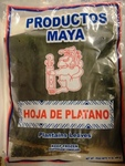 Hoja de platano productos Maya plantains leaves