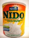 Instant dry whole Milk NIDO 12.6oz 360gr