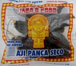 Aji Panca seco Dried Red Hot Pepper Inca's food