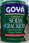 Galletas de soda Premium fancy Crackers Goya