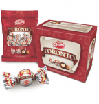 Toronto hazelnuts cover w/ chcolate, 36 units case