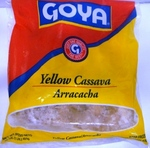 Arracacha yellow cassava Goya