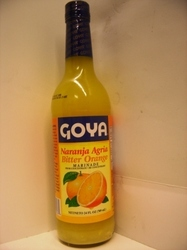 Bitter Orange, Marinade, Goya, 12  Bottles case