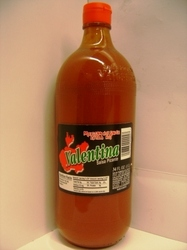 (Extra Hot) Sauce Mexican Valentina 1 liter