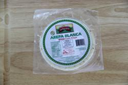 Arepa Blanca 5 unit bag 400gr 14oz La Nuestra