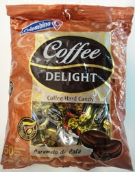 Coffee Delight Hard candy Colombina 10 units case