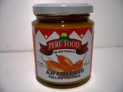Aji Amarillo, Peru food, pasta 7.5 oz