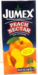 Peach nectar from concentrate, nectar de Durazno