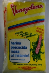 Harina Yellow corn meal 1.5lb La Venezolana